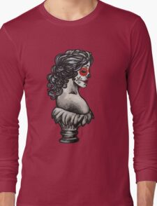 Sugar Skull Sweetheart Long Sleeve T-Shirt