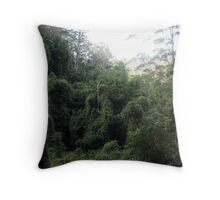 Australian Rainforest Throw Pillow