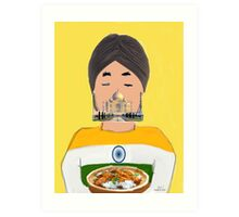 The Indian Art Print