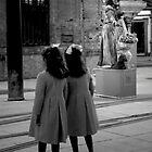 Twins in Sevilla, Spain by Monica Di Carlo