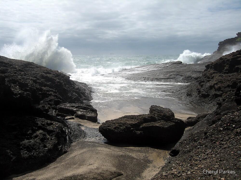 Stormy Coastline by Cheryl Parkes