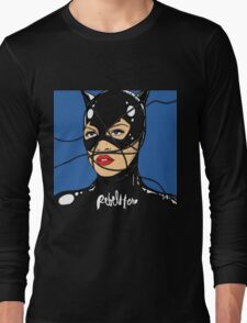 Rebel Cat Long Sleeve T-Shirt