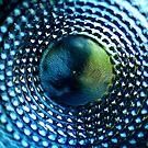 Abstract Glass Macro #39 by David Hawkins-Weeks