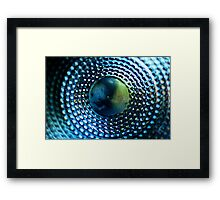 Abstract Glass Macro #39 Framed Print
