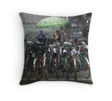 Parked For The Day - No.1 Throw Pillow