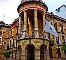 City Hall - Cuenca Ecuador by Al Bourassa