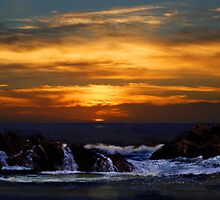 Sunset over Canal Rocks by georgieboy98