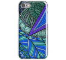 Bruton Blue 3 iPhone Case/Skin