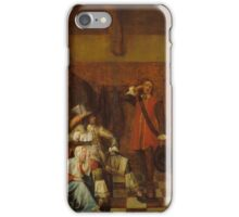 Hooch, Pieter de - 1655, 67,8 x 56 cm iPhone Case/Skin