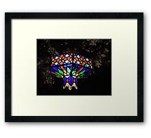 Light Of Crushed Jewels Framed Print