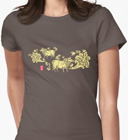 Chinese Zodiac - 2009: Year of the OX 2 Womens Fitted T-Shirt