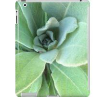 Swirling Lamb's Ear Plant iPad Case/Skin