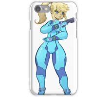 Zero Suit Samus Sticker iPhone Case/Skin