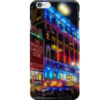 A December Evening at Macy's  iPhone Case/Skin