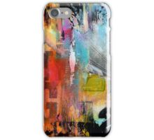 New York Times Square and Taxi Series #23 iPhone Case/Skin