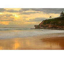 Days Gone By - Warriewood Beach - The HDR Experience Photographic Print