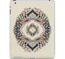Radial Typography  iPad Case/Skin