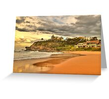 Before The Storm - Warriewood Beach - The Sydney HDR Series Greeting Card