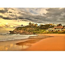 Before The Storm - Warriewood Beach - The Sydney HDR Series Photographic Print
