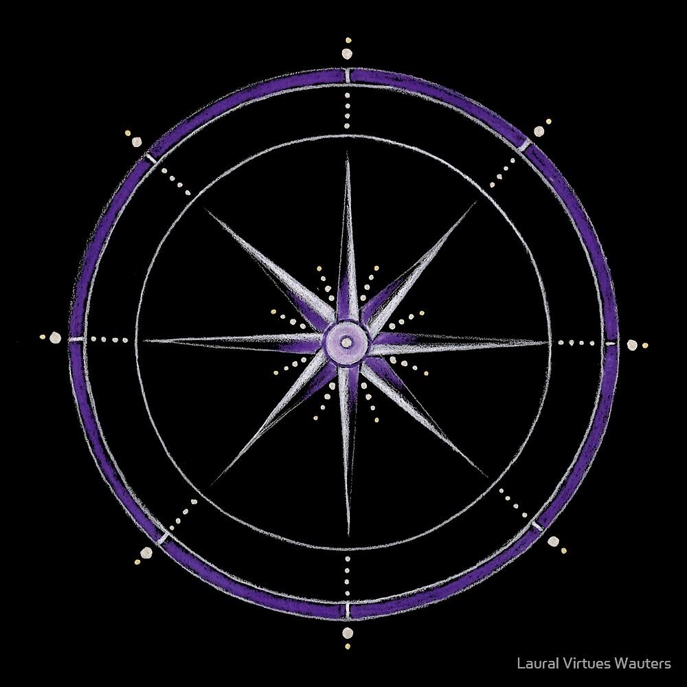 Crown Chakra Mandala by Laural Virtues Wauters