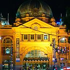 Flinders Street Station by Neil Mouat