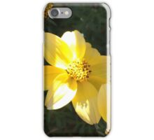 Solo Yellow Bloom iPhone Case/Skin