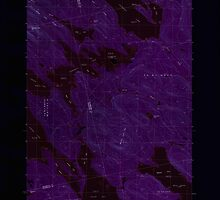 Maine USGS Historical Map Scraggly Lake 102949 1988 24000 Inversion by wetdryvac