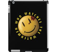 Who Watches The Watchmen? iPad Case/Skin