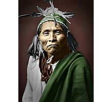 Apache Indian Photographic Print