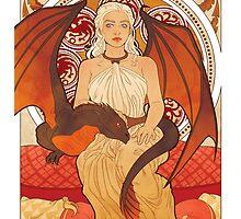 Daenerys Targaryen - GOT by Unsigned