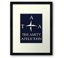 The Amity Affliction - Compass Framed Print