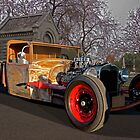 Rat Rod Roadster Pickup by DaveKoontz