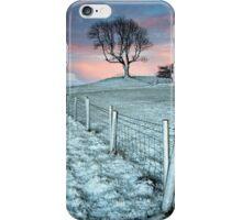 Sunset over Setrah Hill at Bassenthwaite iPhone Case/Skin