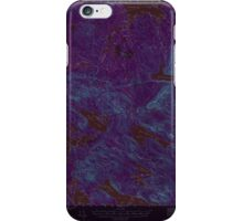 Maine USGS Historical Map Scraggly Lake 306759 1941 62500 Inversion iPhone Case/Skin