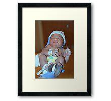 Born ID Framed Print