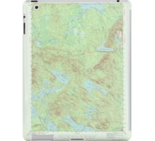 Maine USGS Historical Map Scraggly Lake 306759 1941 62500 iPad Case/Skin