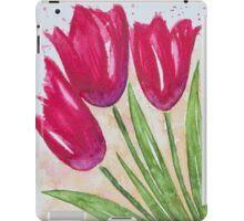 Casual Tulips iPad Case/Skin
