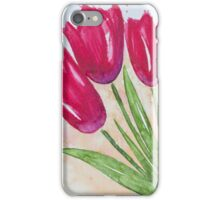 Casual Tulips iPhone Case/Skin