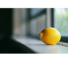 Lemon Photographic Print