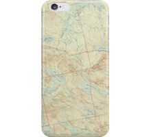 Maine USGS Historical Map Scraggly Lake 306760 1944 62500 iPhone Case/Skin
