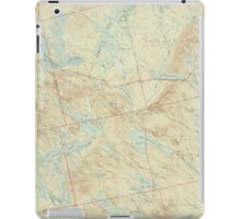 Maine USGS Historical Map Scraggly Lake 306760 1944 62500 iPad Case/Skin