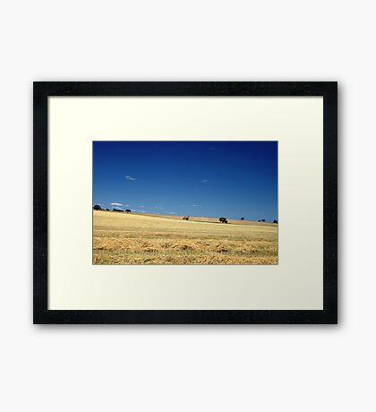 SA Country Framed Print