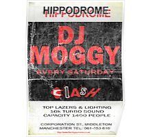 DJ Moggy Hippodrome Poster
