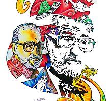 Theodor Seuss Geisel homage by Aarron Laidig