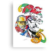 Theodor Seuss Geisel homage Canvas Print