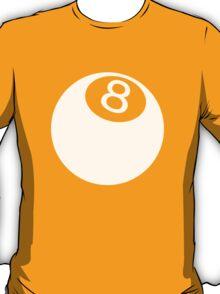 ball number 8 for black t-shirt T-Shirt