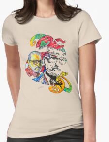 Theodor Seuss Geisel homage Womens Fitted T-Shirt