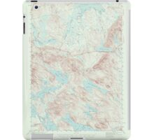 Maine USGS Historical Map Scraggly Lake 306761 1941 62500 iPad Case/Skin