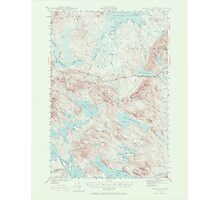 Maine USGS Historical Map Scraggly Lake 306761 1941 62500 Photographic Print
