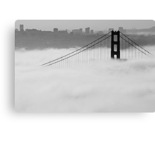 Rising Above the Fog Canvas Print